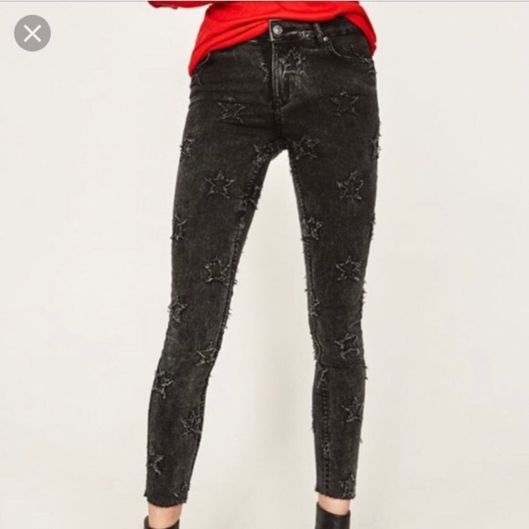 fe5effff Zara Jeans   Star Black Wash Skinny Xt   Poshmark